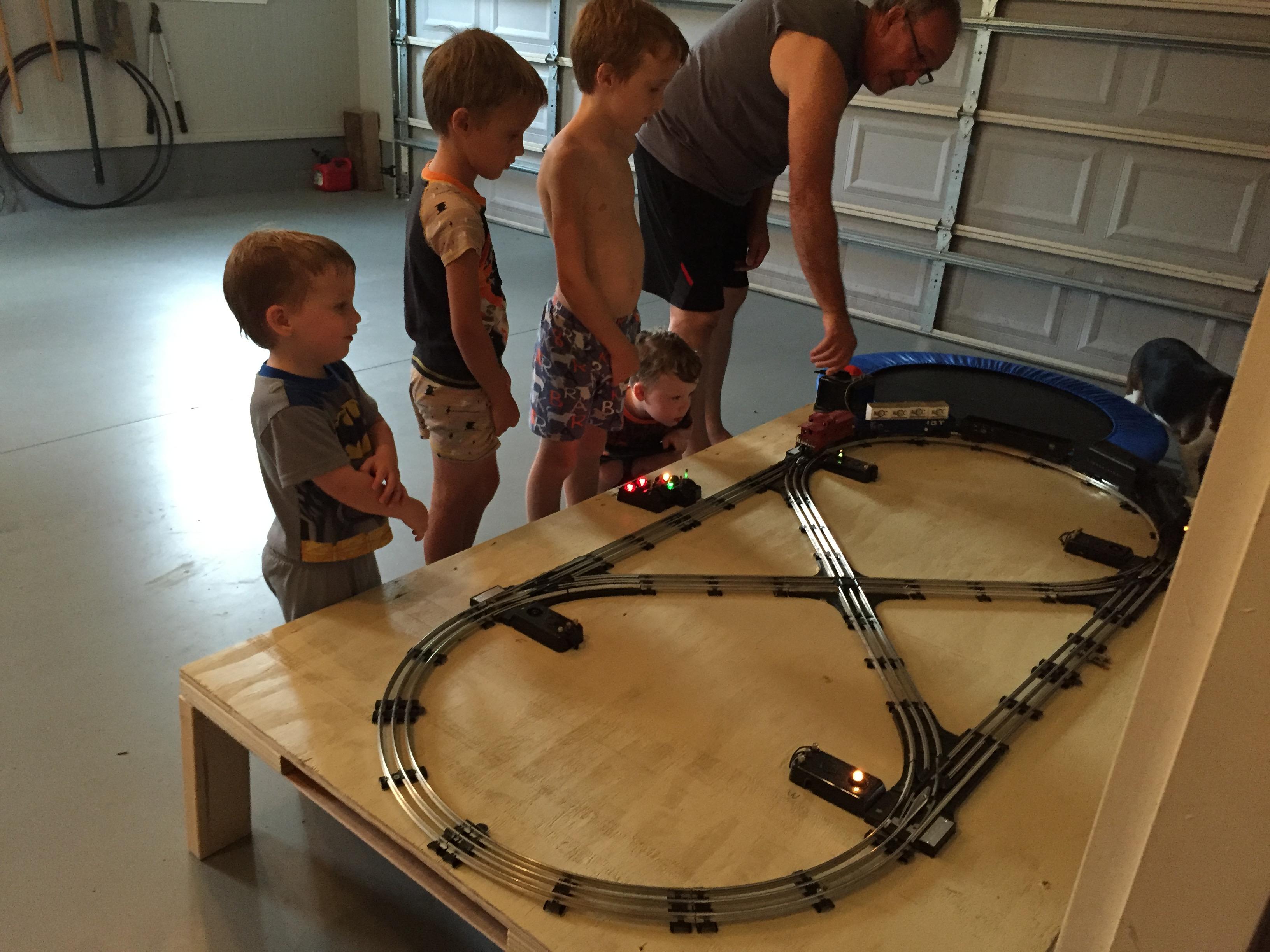 Pop's old Lionel train